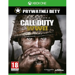 CALL OF DUTY WWII PL  XBOX ONE