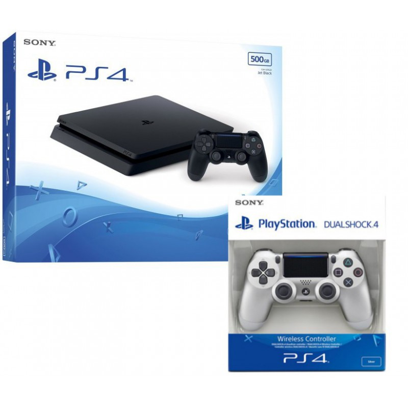 KONSOLA PS4 slim DWA PADY PLAYSTATION 4